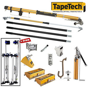 Tapetech Complete Set Of Drywall Taping Finishing Tools New 2018 Model