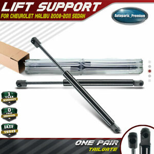 2x Tailgate Lift Supports Shocks Struts For Chevrolet Malibu 2008 2011 Sedan