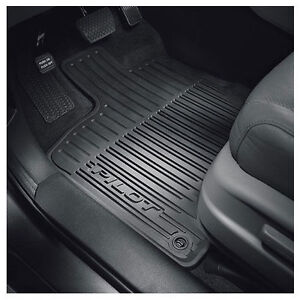 2016 2017 Pilot All Season Weather Rubber Floor Mats Genuine Honda
