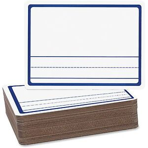 Flipside Products Story Dry erase Board 9 x12 24 pk White 12014