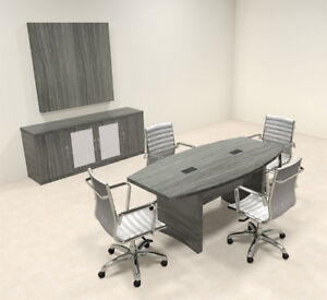 Modern Contemporary Boat Shape 6 Feet Conference Table ro abd c16