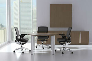 Modern Cotemporary 4 Feet Round Conference Table ch ver c3