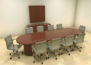 Modern Racetrack 12 Feet Conference Table ch jad c7