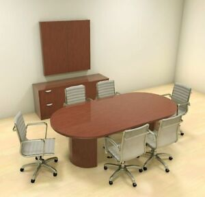 Modern Racetrack 8 Feet Conference Table ch jad c3