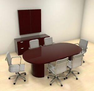 Modern Racetrack 8 Feet Conference Table ch jad c4