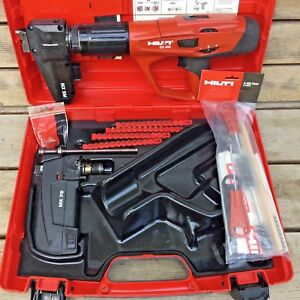Hilti Dx 460 sm Mx 72 complete Kit powder Actuated Nail Gun Tool Fastening
