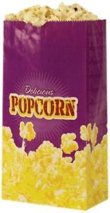 Popcorn 1 5 ounce Butter Bags Small 100 Per Case