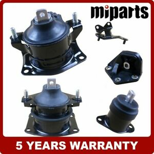 Engine Motor And Transmission Mount Set 5pcs Fit For Honda Accord 2 4l Auto03 07