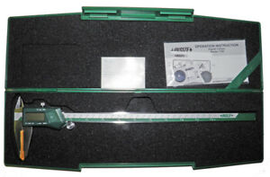 0 12 Electronic Caliper With Data Output With Inspection Traceable Certificate