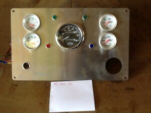 Isspro Vintage Custom Instrument Cluster Rat Rod