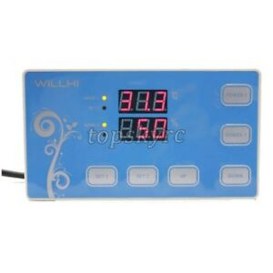 220v Digital Temperature Humidity Controller Incubator Thermostat Sensor Relay