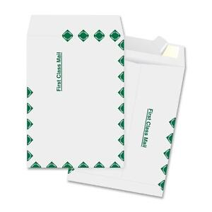 Business Source Catalog Envelopes First Class 10 x13 100 bx White 65859