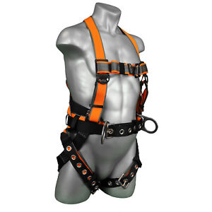 Warthog Maxx Full Body Harness Quick Adjust Torso Buckles With Tb