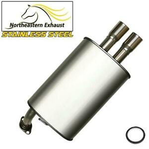 Fits 2002 2006 Nissan Sentra 2 5l Stainlesssteel Exhaust Muffler Tailpipe