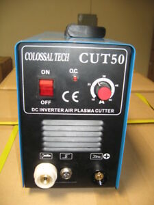 Plasma Cutter 50amp New Cut50 Inverter 220v Voltage Includes 120 Consumables