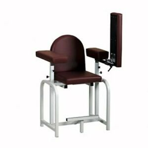 Pro Advantage Extra Tall Blood Draw Chair Flip arm Upholstered