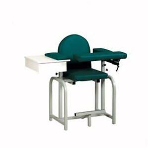 Pro Advantage Extra Tall Blood Draw Chair Flip arm Drawer Upholstered