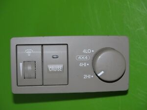 2004 04 Kia Sorento Head Light Lamp Dimmer 4x4 Switch Control Oem Beige