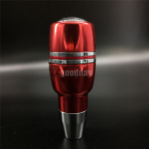 Cool Red Aluminum Universal Car Automatic Gear Stick Shift Knob Shifter Lever