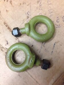 Jeep Mb Gpw Willys Ford Pintle Hook Eye Bolt Set G 503