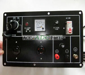 Control Panel For 5kw Diesel Generator Parts