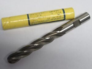 Doall Greenfield 1 2 X 3 Extra Long Length 4 Flutes Ball Nose End Mill Usa
