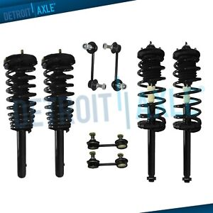 8pc 1998 2002 For Honda Accord 2 3 3 0l Front Rear Strut Spring Sway Bar Kit
