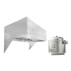 Hoodmart 4 X48 Type 1 Commercial Kitchen Restaurant Exhaust Hood System