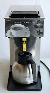 Newco Commercial Coffee Maker Model Aktc Stainless Carafe Lightly Used
