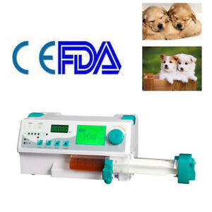 Veterinary Syringe Pump Icu Ccu Monitor Audible Visual Alarm Library Kvo Ups Dhl