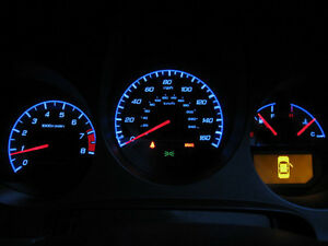 Type S Style Silver Face Blue Glow Gauge For 2004 06 Acura Tl Instrument Cluster