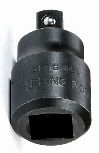 3 4 Drive 1 2 Drive Adaptor With Black Industrial Finish Williams Usa Sh 131bf