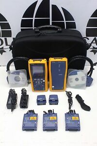Fluke Dtx 1800 Cable Analyzer Dtx mfm2 Mm Dtx sfm2 Sm Fiber Dtx 1800 ms