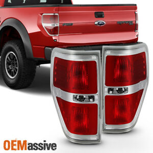 Fit 2009 2014 Ford F150 F 150 Tail Lights Lamps L r Pair 09 10 11 12 13 14