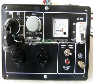 Control Panel Assembly For Kama Welding Generator Dual Use
