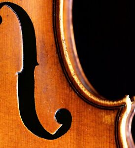 Very Old Labelled Vintage Violin Georges Chanot 1855 Geige
