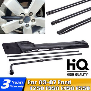 Tool Kit For Ford 2003 2007 Super Duty F250 F350 F550 F450 Spare Tire Lug Wrench