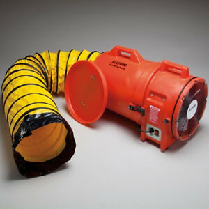 Allegro Industries 12 Plastic Axial Blower With Canister 15 Duct 1 842 Cfm