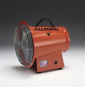 Allegro 8 Ac Axial Blower With Carry Handle Rubber Feet 1 275 Cfm Free Air