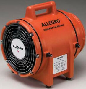 Allegro Confined Space 8 Plastic Com pax ial Blower
