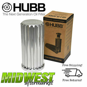 Hubb Lifetime Reusable Oil Filter Fits 2011 2016 Ford F 250 350 6 7l