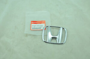 Oem New Genuine Honda 2009 2013 Fit 2009 2011 Civic Front Emblem 75700 tf0 000