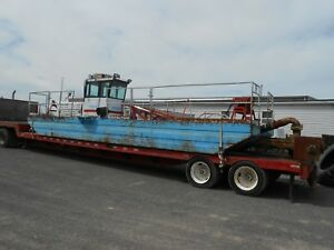 Mudcat Sp 915 Hydraulic Dredge