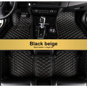 For Jaguar Xf 2008 2015 Car Floor Mats Front Rear Liner Auto Waterproof Carpet