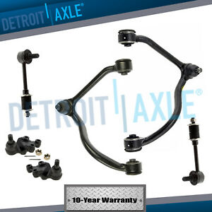 For 2003 2004 Kia Sorento Front Upper Control Arm And Sway Bar End Link Kit 6pc