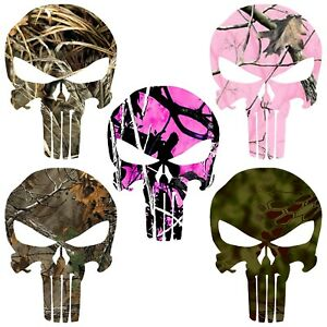 Camouflage Punisher Skull Decal Pattern Skull Punisher Sticker