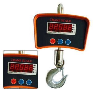 500kg 0 5kg Portable Electronic Lcd Digital Hanging Weight Hook Scale Kg And Lb