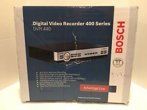 Bosch Series 400 Digital Video Recorder Dvr 440 In Original Box Original Manual