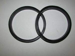 New 100 Pack 5 Diameter Rubber Gasket O ring Seal U Channel Round