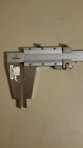 Mitutoyo Nib Jaw Fine Adjustment Vernier Caliper 0 24 0 600mm